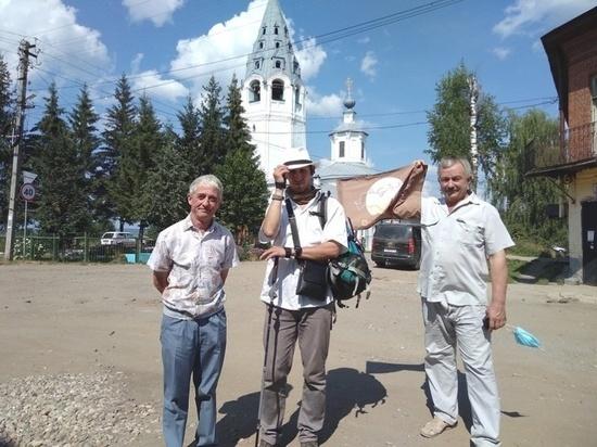 Всю Костромскую область обошел за три недели известный блогер-путешественник