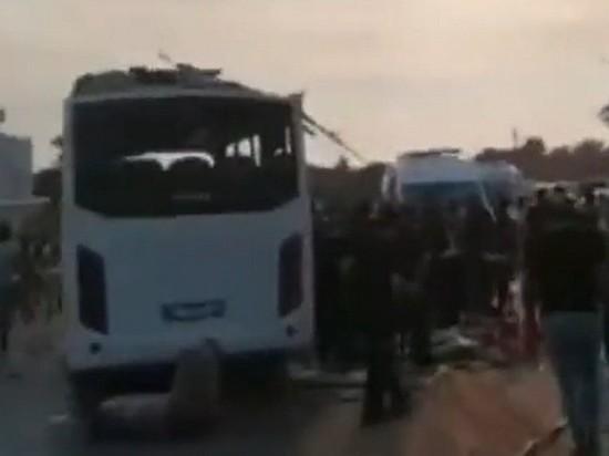 Двое россиян находятся в тяжелом состоянии после ДТП в Турции