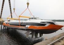 Новый «Метеор 120Р» спущен на воду в Нижегородской области