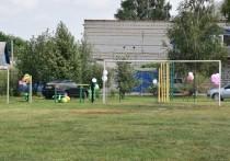 В селе Малобыково Красногвардейского района Белгородской области открыли новую спортивную площадку