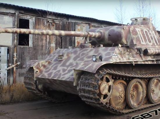Немецкого пенсионера осудили условно за танк «Пантера» в подвале