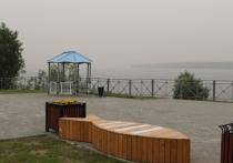 Дымом от лесных пожаров в Якутии заволокло Красноселькуп