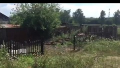 Появилось видео с места, где злоумышленник держал девочку из Бийского района