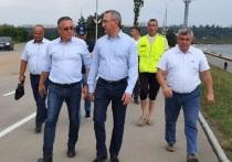 Шапша и Денисов прогулялись по объектам благоустройства Калуги