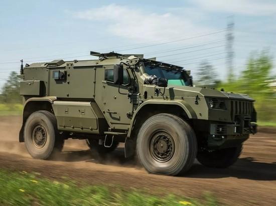 ВДВ получили на снабжение новейшие броневики «Тайфун-ВДВ»
