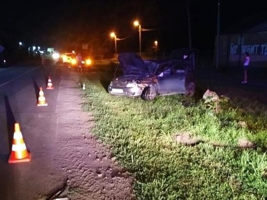 На Дону пенсионер за рулем «Калины» насмерть сбил пешехода и перевернулся