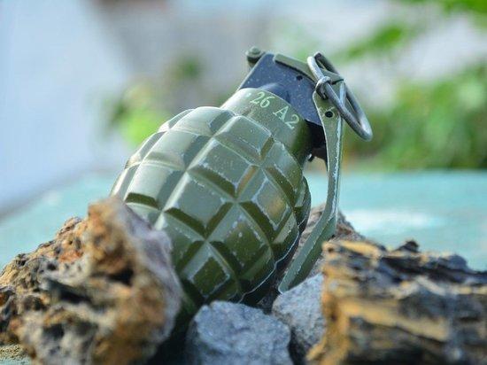 У напавшего на правительство Украины была боевая граната