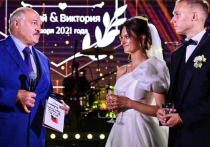 Старшая внучка президента Белоруссии Александра Лукашенко Виктория вышла замуж