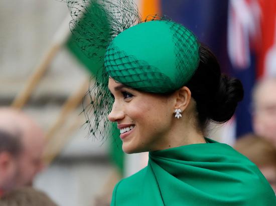 Несмотря на конфликт, британская королевская семья поздравила жену принца Гарри с круглой датой