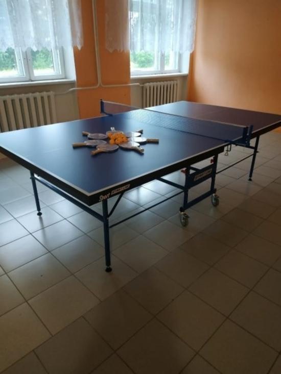 В Псковской области отремонтировали спортивный зал в школе в Дедовичском районе, фото-2