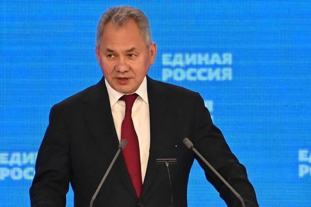 Сергей Шoйгу назвал высочайшим доверием предложение Президента возглавить федеральную часть списка «Единой России» на выборах в Госдуму