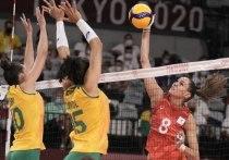 Российские волейболистки уступили команде Бразилии в четвертьфинале олимпийского турнира в Токио