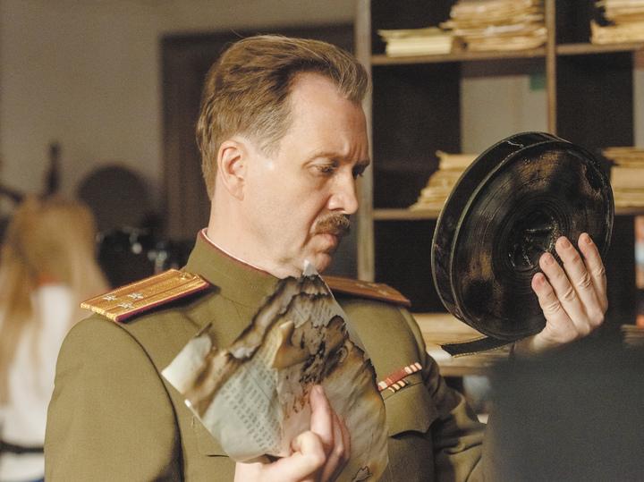 Снимается «Нюрнберг»: Миронов впервые встретился на площадке с Безруковым