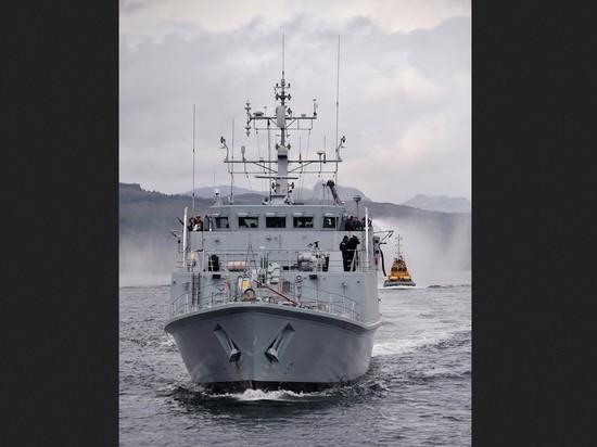 Великобритания пообещала Украине два списанных противоминных корабля