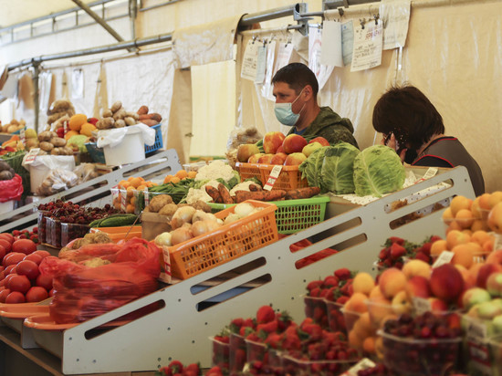 В России зафиксировали продовольственную дефляцию