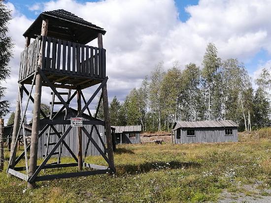 Бутафорский концлагерь в Карелии закрыт