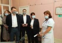 Планы по модернизации медучреждений приграничных районов обсудили в Псковской области