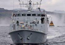 На британском флоте прошла церемония прощания с кораблями, которые в ближайшее время будут переданы Украине