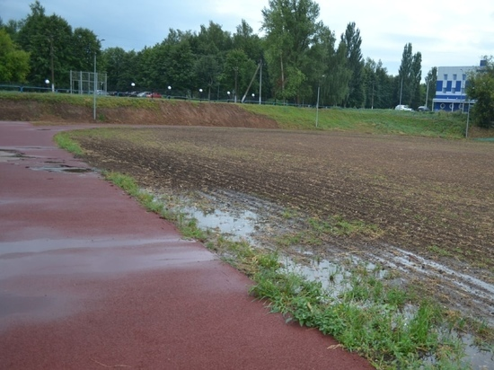 При строительстве стадиона в Козьмодемьянске выявлены нарушения
