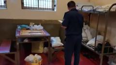 Появилось видео с места побега заключенных в Истре