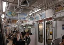 В Токио правоохранители задержали мужчину, который напал сегодня с ножом на пассажиров поезда