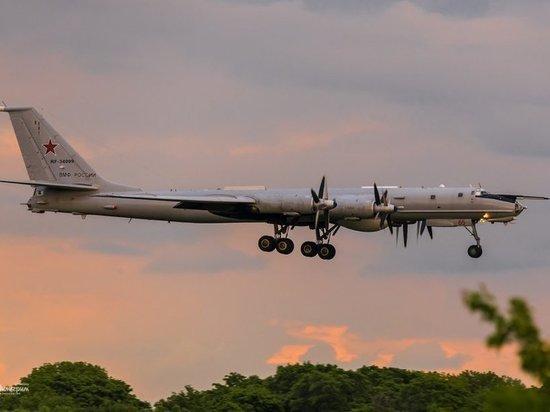 ВВС Британии сообщили о перехвате истребителями двух российских Ту-142