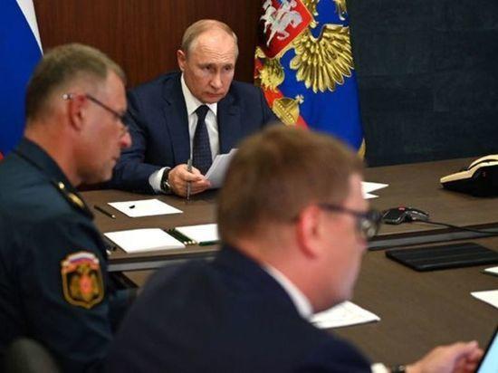 Президент РФ провел в Челябинской области совещание по лесным пожарам