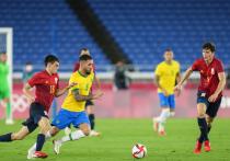 Мужская сборная Бразилии по футболу стала олимпийским чемпионом, победив в финальном матче сборную Испании со счетом 2:1