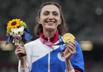 Мария Ласицкене выиграла Олимпийские игры в прыжках в высоту