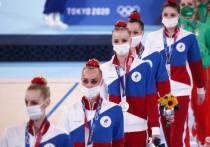 Сборная России по художественной гимнастике завоевала серебро на Олимпиаде в групповом многоборье. Наша команду уступила золото в этой дисциплине впервые с 2000 года.
