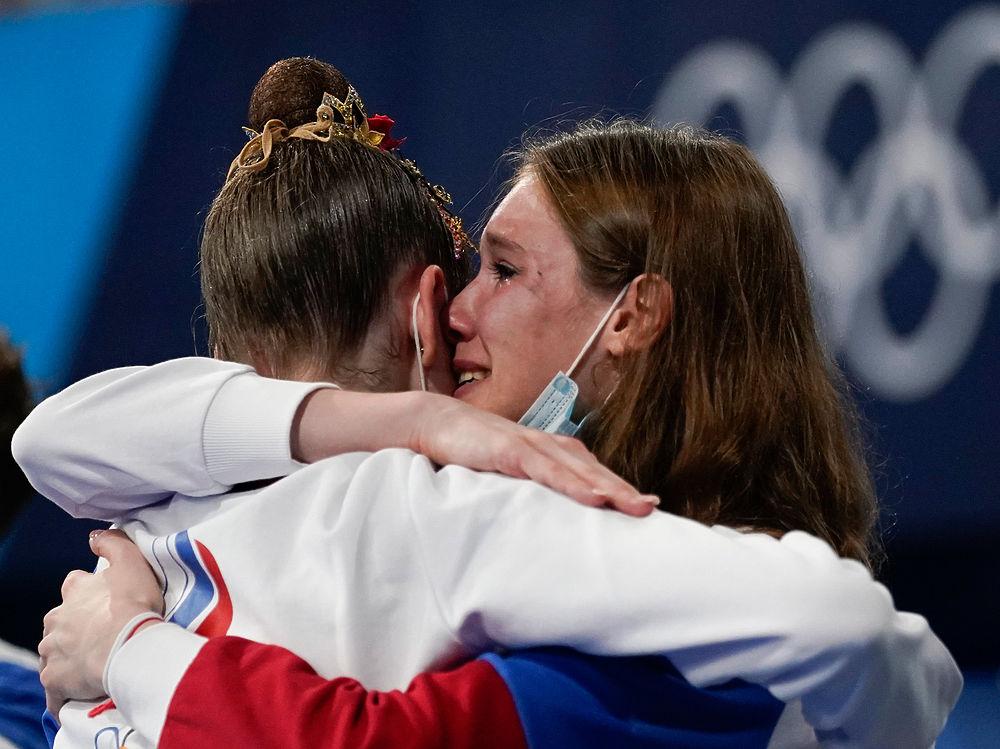 Российские гимнастки проиграли олимпийское золото: борьба и слезы в Токио