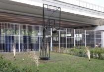 В День города в рязанском Лесопарке появился арт-объект «Движение вверх»