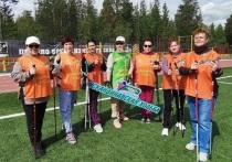 Бесплатно заниматься фитнесом и скандинавской ходьбой приглашают пенсионеров из Ноябрьска