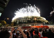 Наш специальный корреспондент передает с закрытия Олимпиады