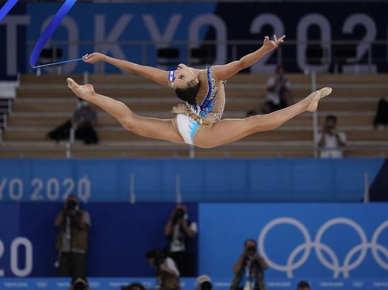 Тогда россиянка взяла золотую медаль, а Ашрам - серебряную