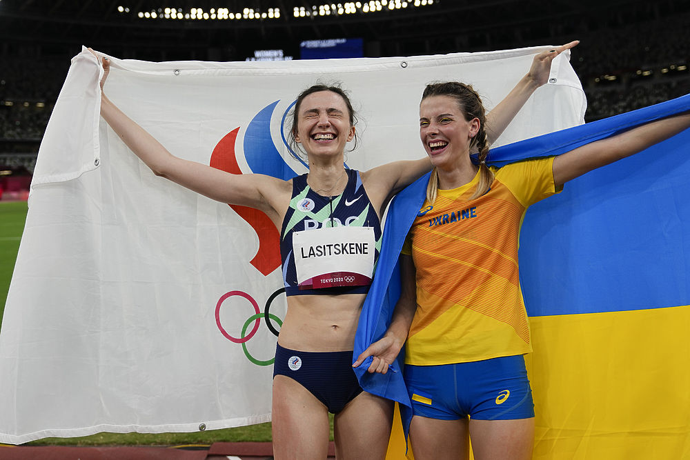 Украинку Магучих затравили за фото с россиянкой Ласицкене: кадры легкоатлетки