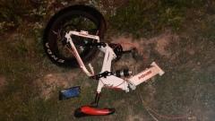 В Хакасии велосипедист случайно снял на видео свою смерть в ДТП