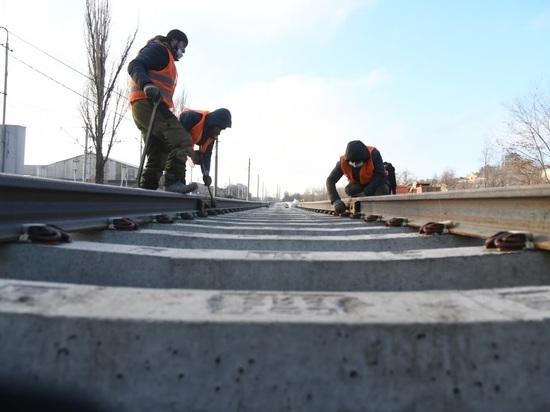 В Волгограде из-за ремонта закроют трамвайный переезд на несколько дней
