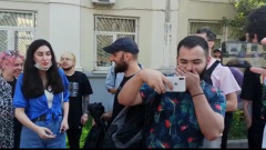 Стендапер Идрак Мирзализаде приехал в суд: видео