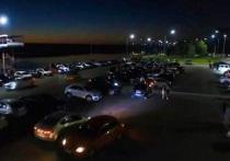 В Калуге полиция выявила нарушителей ночного спокойствия на набережной