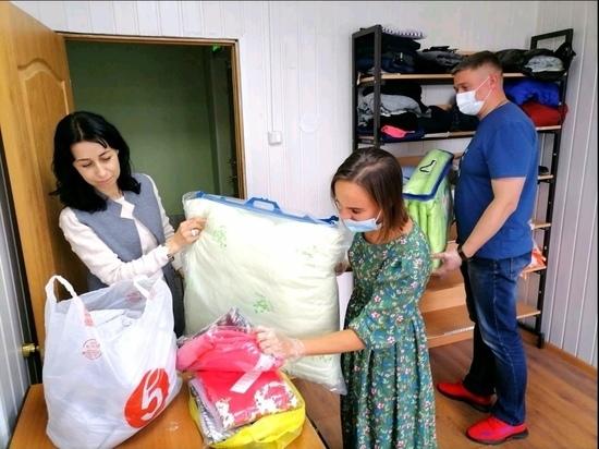 Посуда, постельное белье, одежда: люди активно передают помощь жильцам сгоревшего дома в Лабытнанги