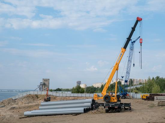 Берегоукрепление Волги защитит от оползней дома в Волгограде
