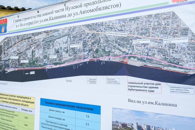 В Волгограде защитит от оползней дома берегоукрепление Волги, фото-3