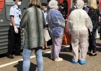 Смоленские дети вернулись в поезде из Анапы с температурой под 40