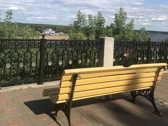 В Кирове на набережной Грина уберут поросль
