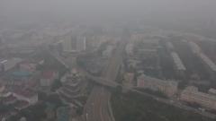 Улан-Удэ накрыл смог от пожаров: кадры города в дыму