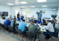 Денис Паслер провел заседание строительного штаба на месте будущей инфекционной больницы
