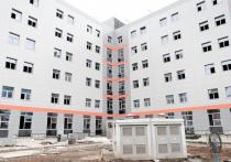 Лечебно-диагностический корпус детской краевой больницы в Краснодаре сдадут к концу нынешнего года