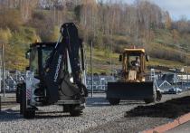 Заместитель губернатора Томской области по строительству и инфраструктуре Евгений Паршуто проинспектировал строительство важного дорожного объекта