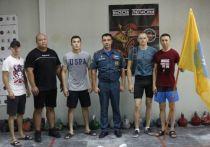 Калмыцкие спасатели взяли бронзу соревнований по гиревому спорту в ЮФО